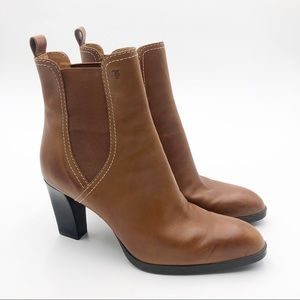 Tods Tweed Elastic Chunky Boots